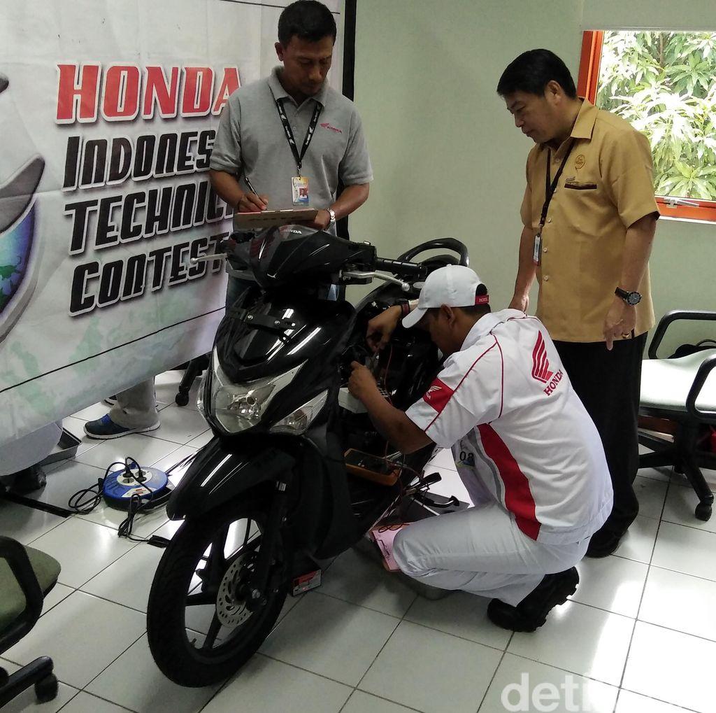 Mekanik Honda Indonesia, Meski Jurusan SMK Bisa Kalahkan Mekanik Asing yang S1