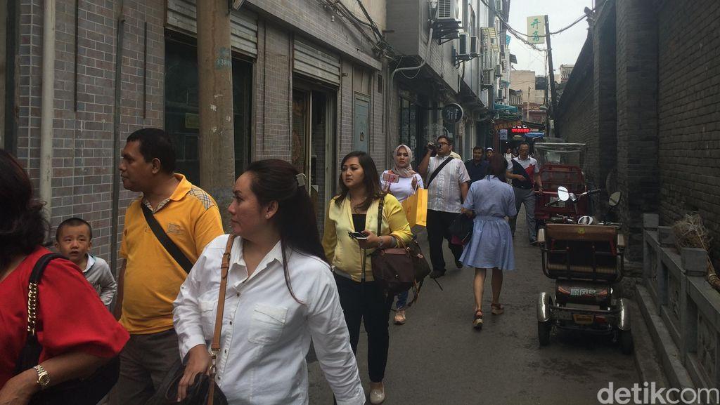 Sambutan Hangat Komunitas Muslim di Xian ke Pengurus Golkar