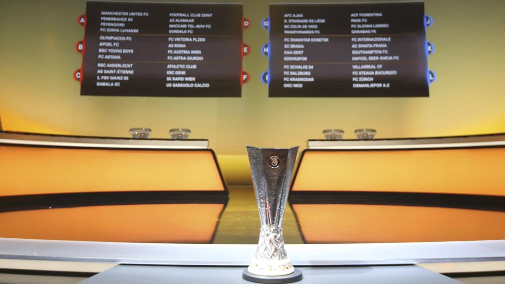 Hasil Lengkap Matchday III Liga Europa