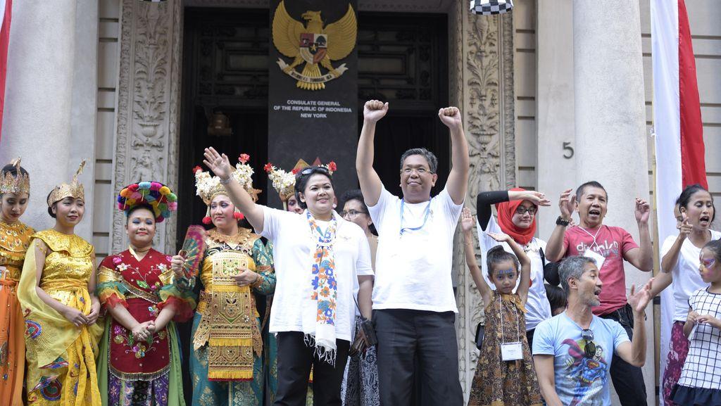 Ribuan Warga AS Hadiri New York Indonesian Street Festival