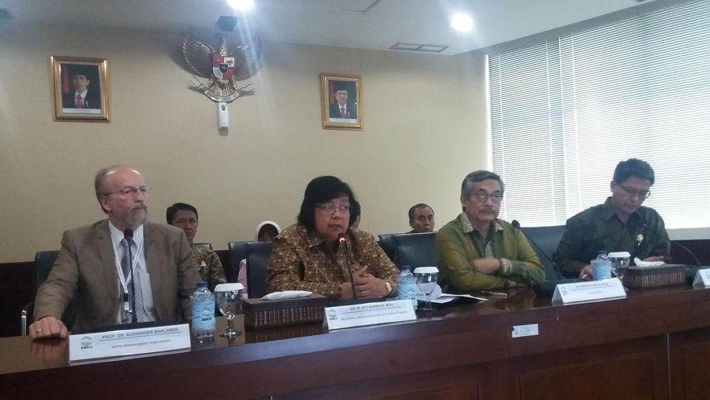 Menteri Siti Resmikan Stasiun Pengawas Atmosfer Kebakaran Lahan