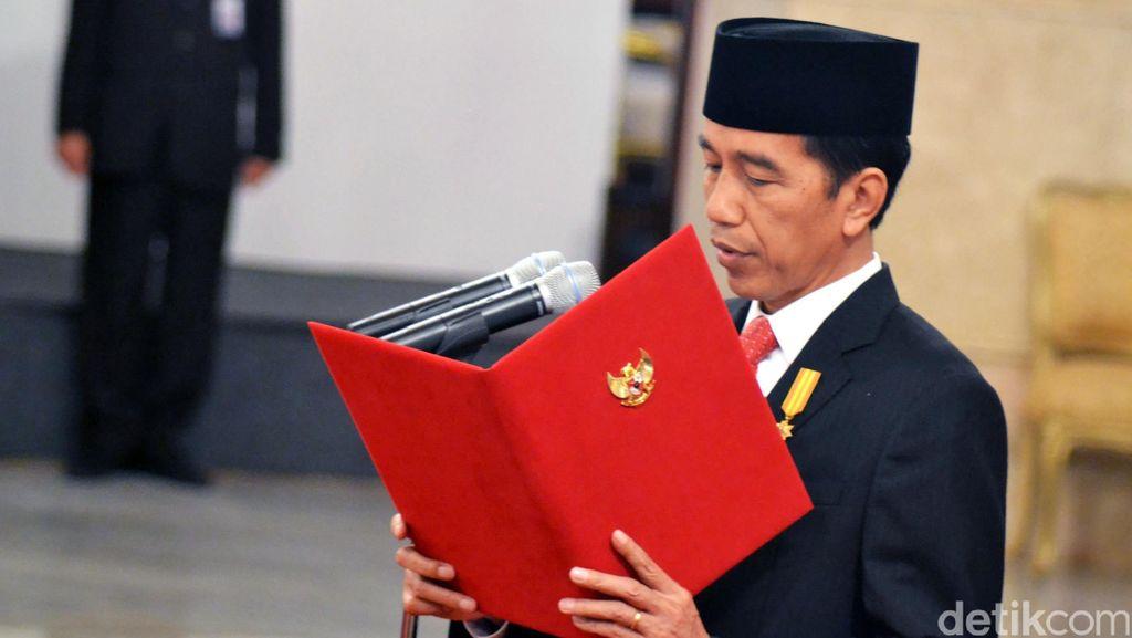Jokowi Lapor Penerimaan Gratifikasi dari Perusahaan Minyak Rusia ke KPK