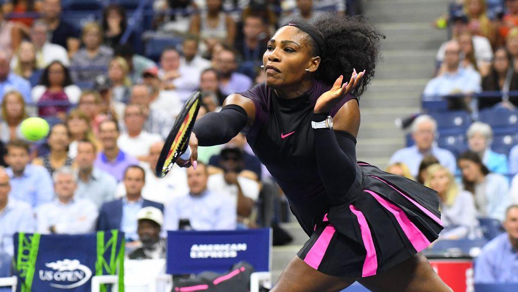 Serena ke Babak Ketiga, Samai Rekor Navratilova