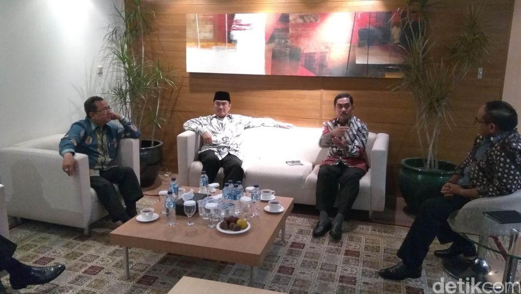 Temui Ketum ICMI, Kepala BNPT Bahas Fenomena Terorisme di Kalangan Akademis