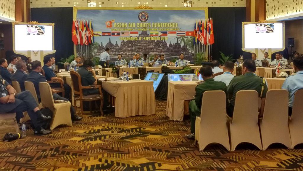 KSAU se-ASEAN Kumpul di Indonesia Bahas Diplomasi Udara