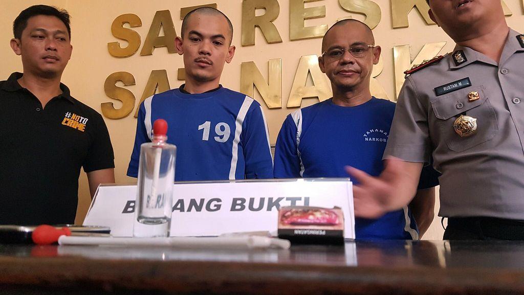 Pejabat di Sukabumi Ditangkap saat Nyabu dengan Teman Wanitanya