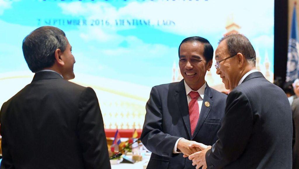 Di Depan Ban Ki Moon, Jokowi: Wujudkan Kemerdekaan Palestina!