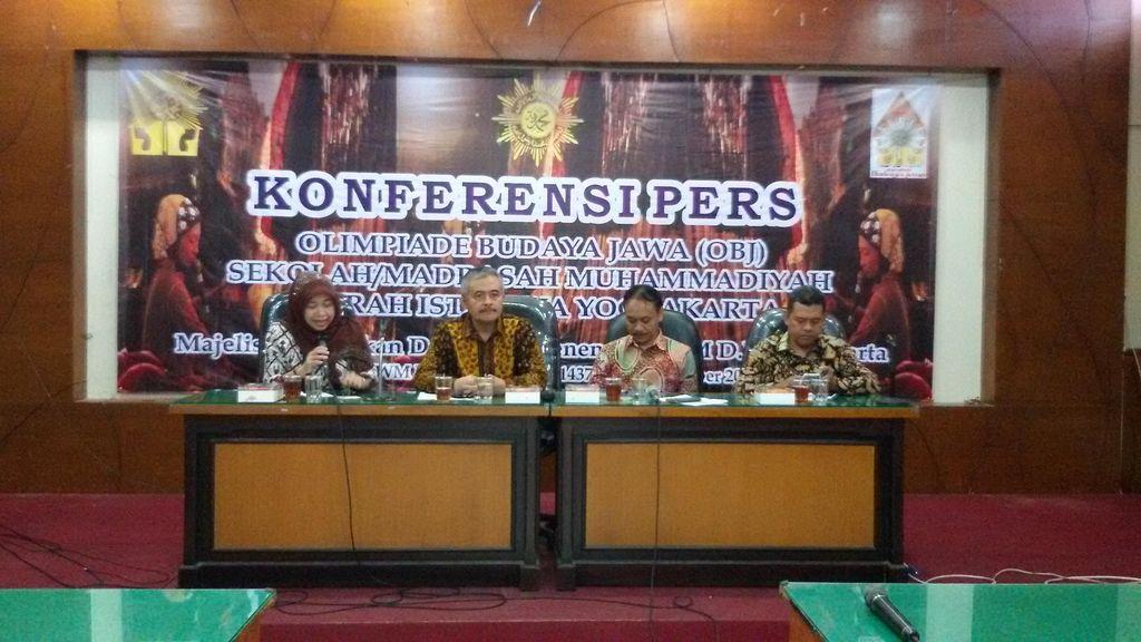 Pertama Kali, Muhammadiyah Gelar Olimpiade Budaya Jawa di Yogyakarta