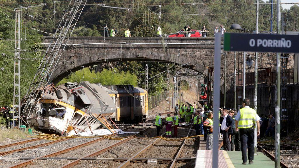 WN Amerika dan Portugal Jadi Korban Tewas di Kecelakaan Kereta di Spanyol
