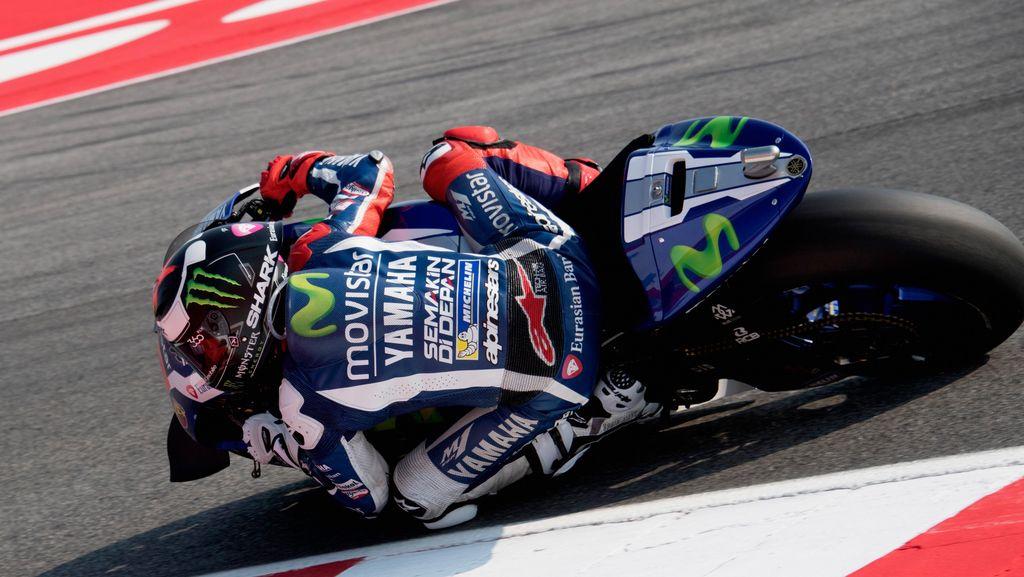 Lorenzo Raih Pole, Rossi Start Kedua di San Marino