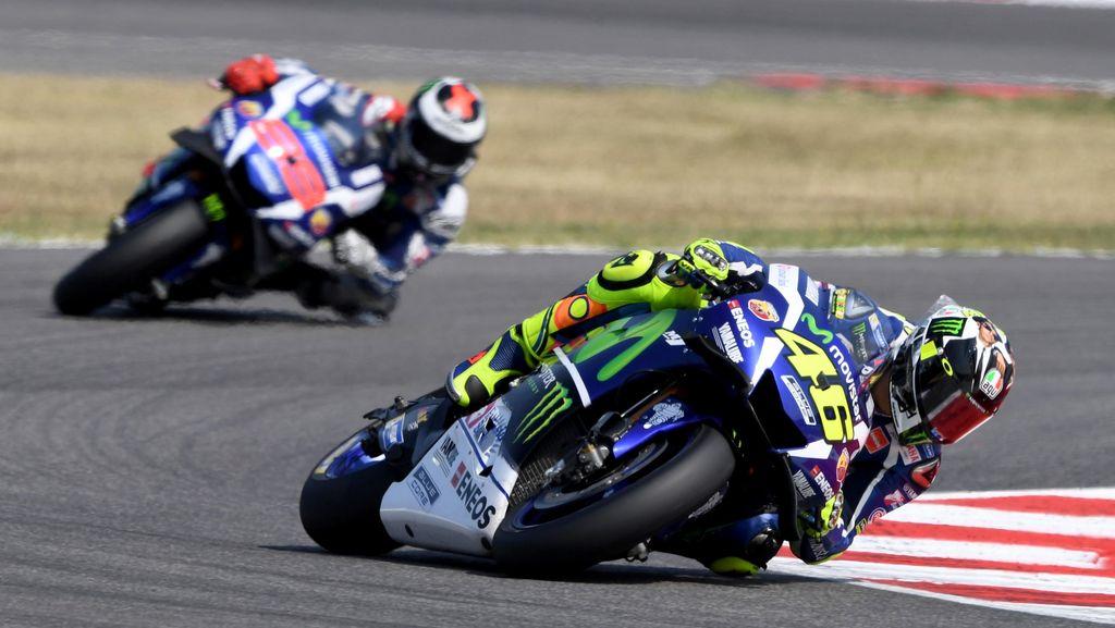 Perdebatan Rossi-Lorenzo Usai Balapan di Misano