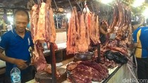Daging Kerbau Sudah Masuk Pasar, Pedagang: Tak Otomatis Turunkan Harga