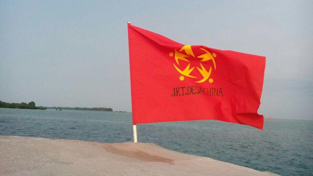 Polisi Selidiki Motif Pelaku Bawa Bendera JKT.Desa Cina di Pulau Pari