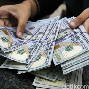 Dolar AS Lengser Lagi dari Rp 13.000