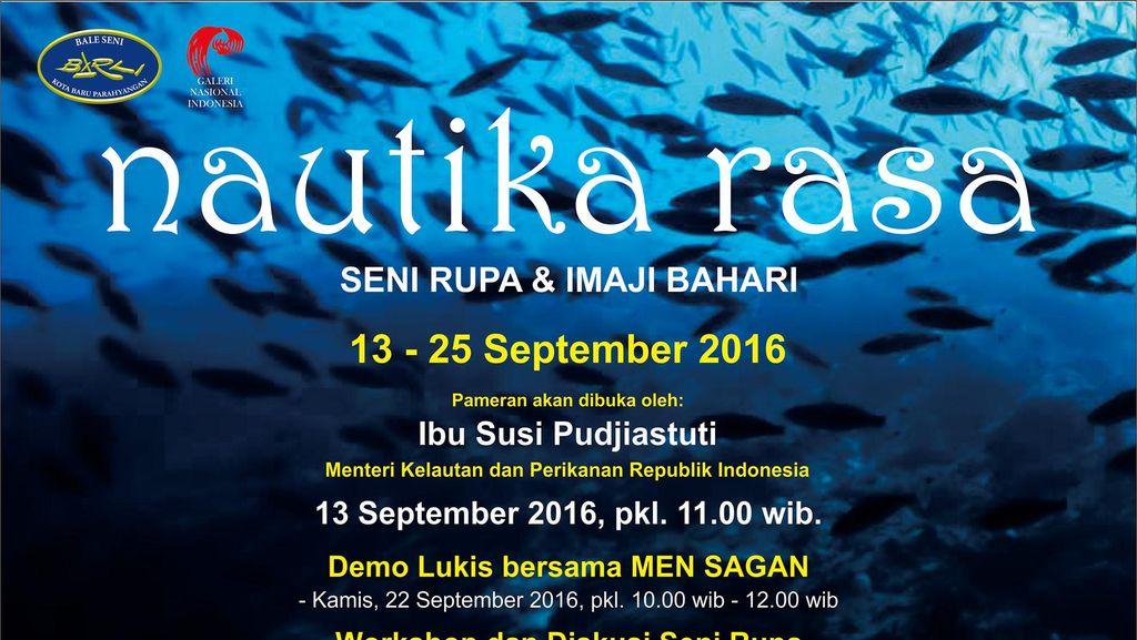 120 Seniman Ikuti Pameran tentang Maritim di Galeri Nasional Indonesia