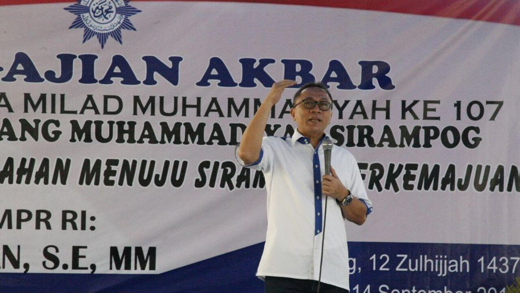 Di Pengajian Muhammadiyah, Ketua MPR:  Ajari Anak Baca Alquran Supaya Pintar