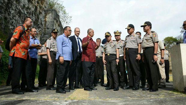 Foto: Kapolri Tinjau persiapan sidang umum Interpol di Bali (Dok. Polri)
