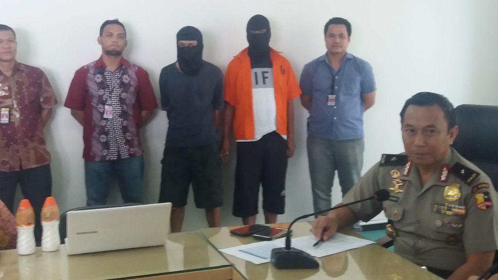 Polri Ringkus 2 Orang Otak Penyelundupan Bom Ikan dari Malaysia ke RI