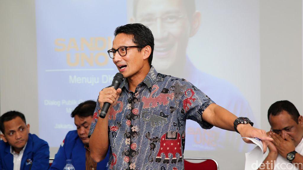 Ahok Sebut Peserta Tax Amnesty Ngemplang Pajak, Sandiaga: Presiden Saja Ikut