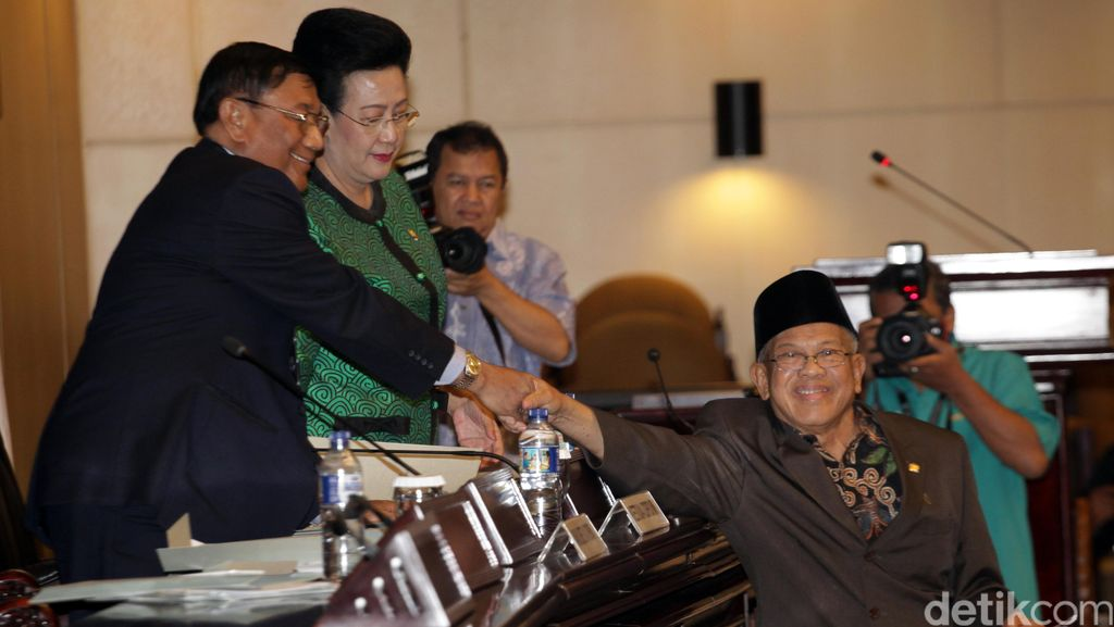 Pimpinan DPD: Keputusan Pemberhentian Irman Gusman Final dan Mengikat