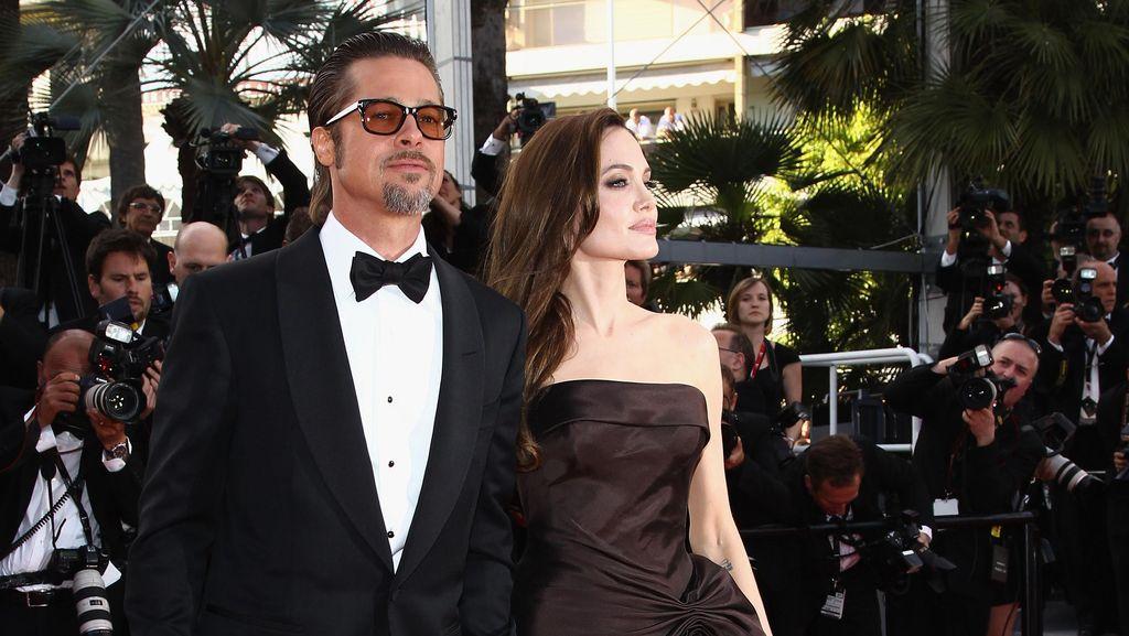 Brad Pitt Akhirnya Sudah Bertemu Anak-anak
