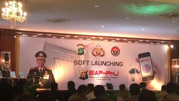 Launching Siap PMC/ Amel detikcom