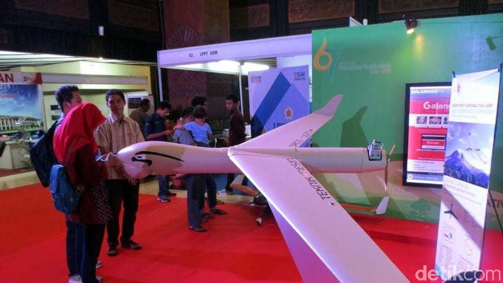 Melihat Hasil Karya Dosen dan Mahasiswa di UGM Expo 2016: Ada Pesawat Tanpa Awak