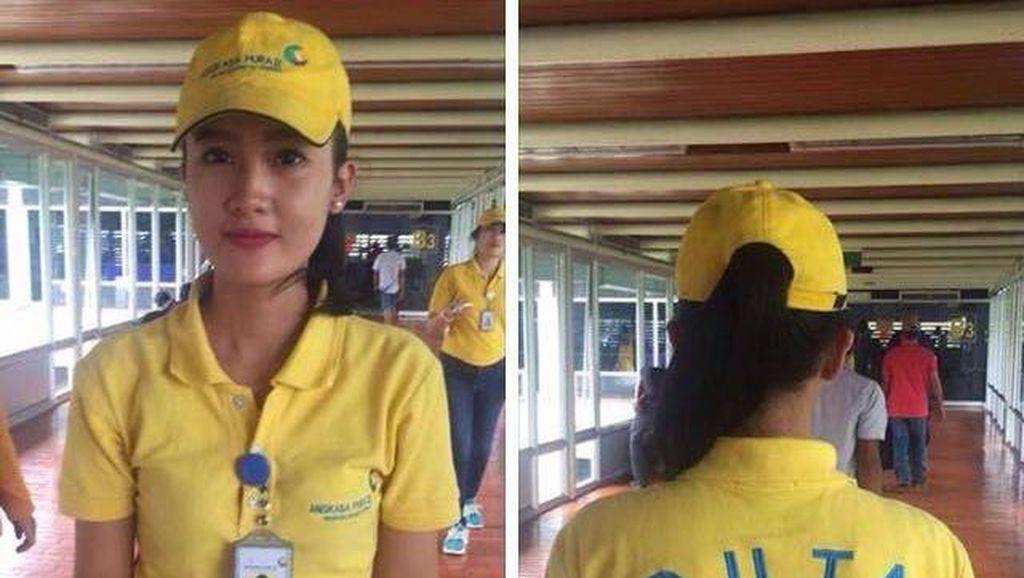 Wanita Cantik Ini Tegur Penumpang Bandara yang Merokok di Sembarang Tempat