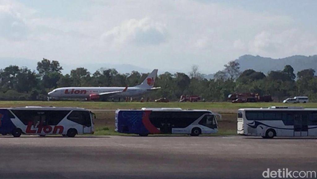Kata Lion Air soal Pesawat yang Alami Gangguan Teknis dan Mendarat di Makassar