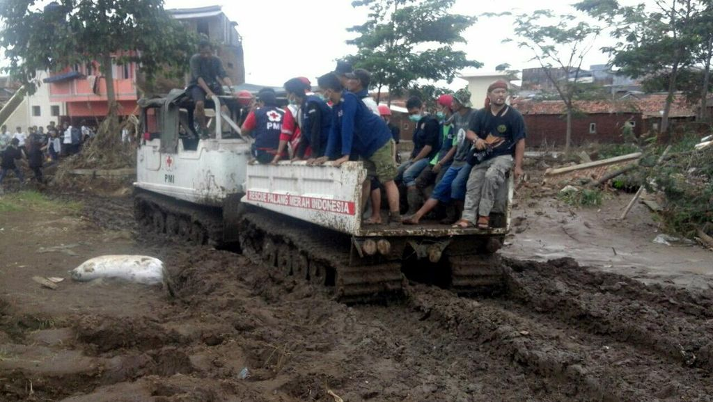 Terkena Banjir, PMI Garut Derita Kerugian Rp 3 Miliar