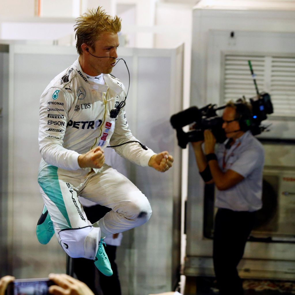 Peluang Pertama Rosberg Mengunci Gelar Juara Dunia F1