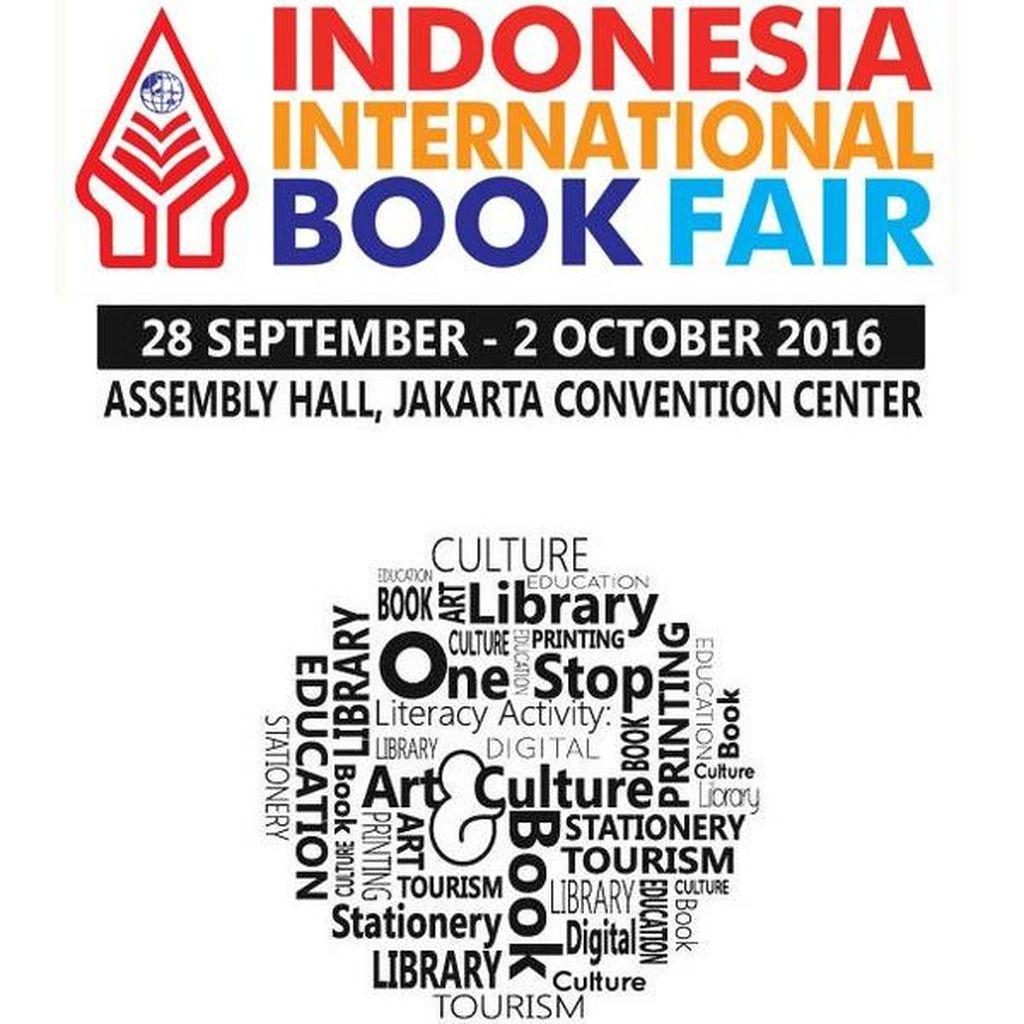 Indonesia International Book Fair 2016 Dibuka Hari Ini