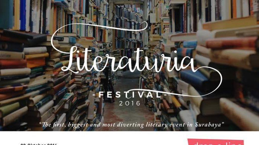 Literaturia, Festival Literasi Pertama di Surabaya Digelar Akhir Pekan Ini