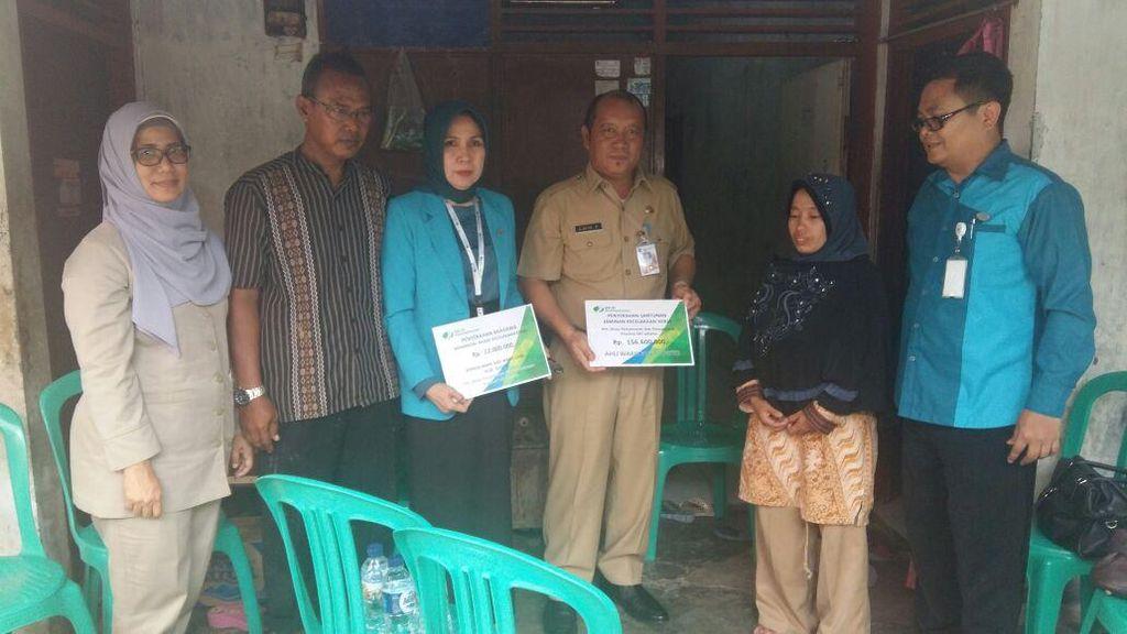 BPJS Ketenagakerjaan Beri Santunan untuk Keluarga Sugito yang Tewas di Kolam Bundaran HI