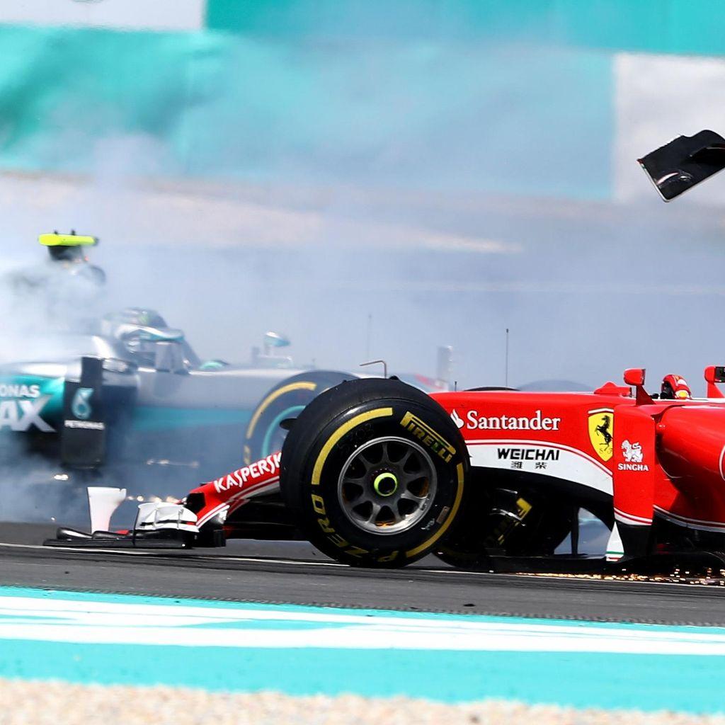 Rosberg Kritik Vettel, Tak Permasalahkan Penalti 10 Detik