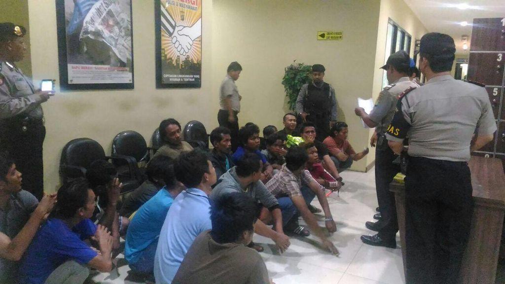 61 Preman di Kawasan Pelabuhan Tanjung Priok Ditangkap Polisi