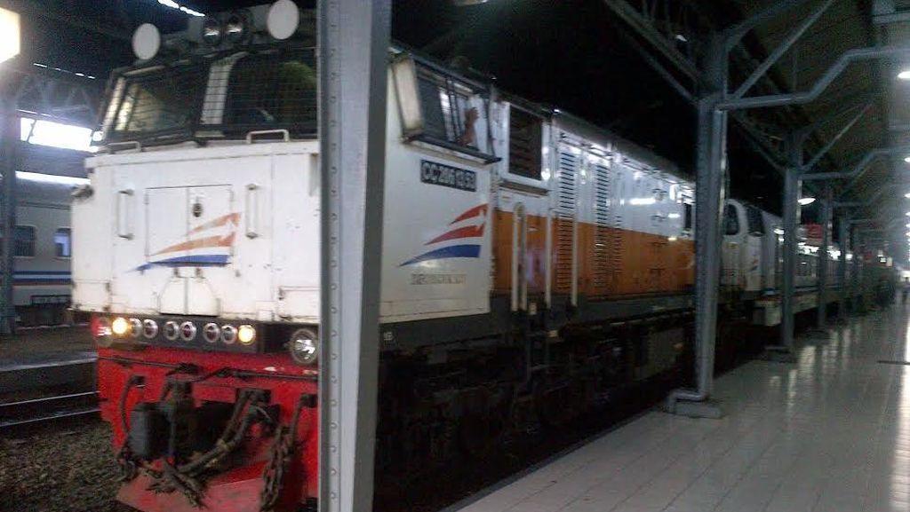 Turis Perempuan Tertabrak KA di Stasiun Lempuyangan Yogyakarta