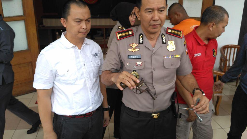 Aksi Pencuri Spesialis Motor Sport Gagal Setelah Dikepung Polisi dan Warga
