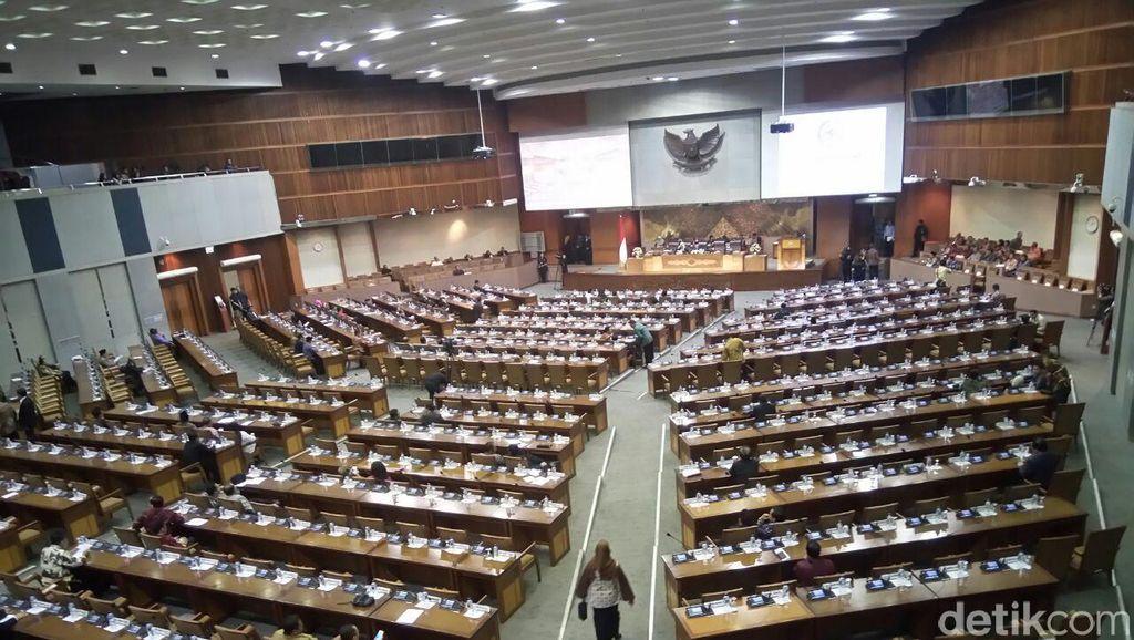 Surat Presiden Soal RUU Pemilu Dibawa ke Paripurna DPR Siang ini