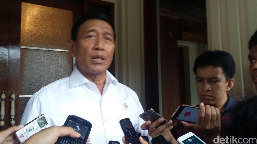 Wiranto: Jangan Biarkan Polri Melawan Terorisme dengan Tangan Kosong