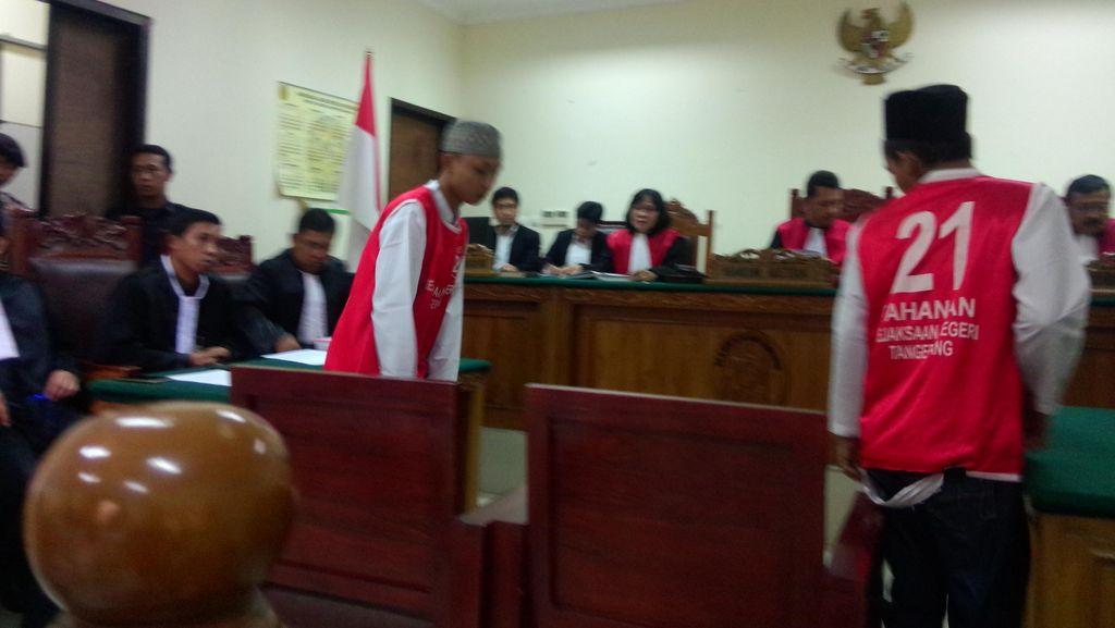 Sidang Perdana, Rahmat dan Imam Didakwa Bunuh Eno Secara Sadis