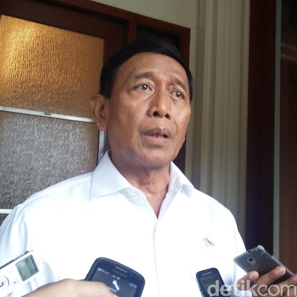 Wiranto Lantik 236 Personel Satgas Sapu Bersih Pungutan Liar