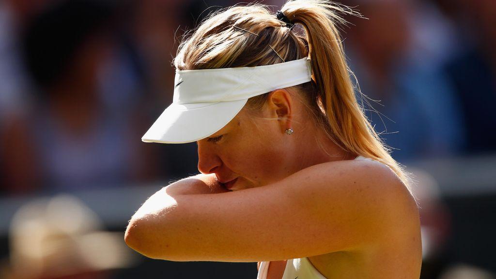 Hukuman Dipangkas, Sharapova Belum Tentu Main di Wimbledon dan Roland Garros