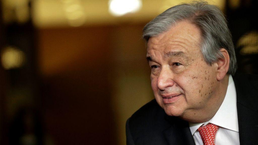 Mantan PM Portugal Akan Menjadi Sekjen PBB Baru Gantikan Ban Ki-moon