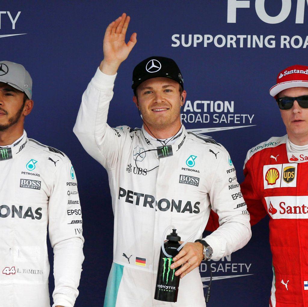 Sudah Amankan Pole, Rosberg Kini Fokus Hadapi Tantangan di Balapan