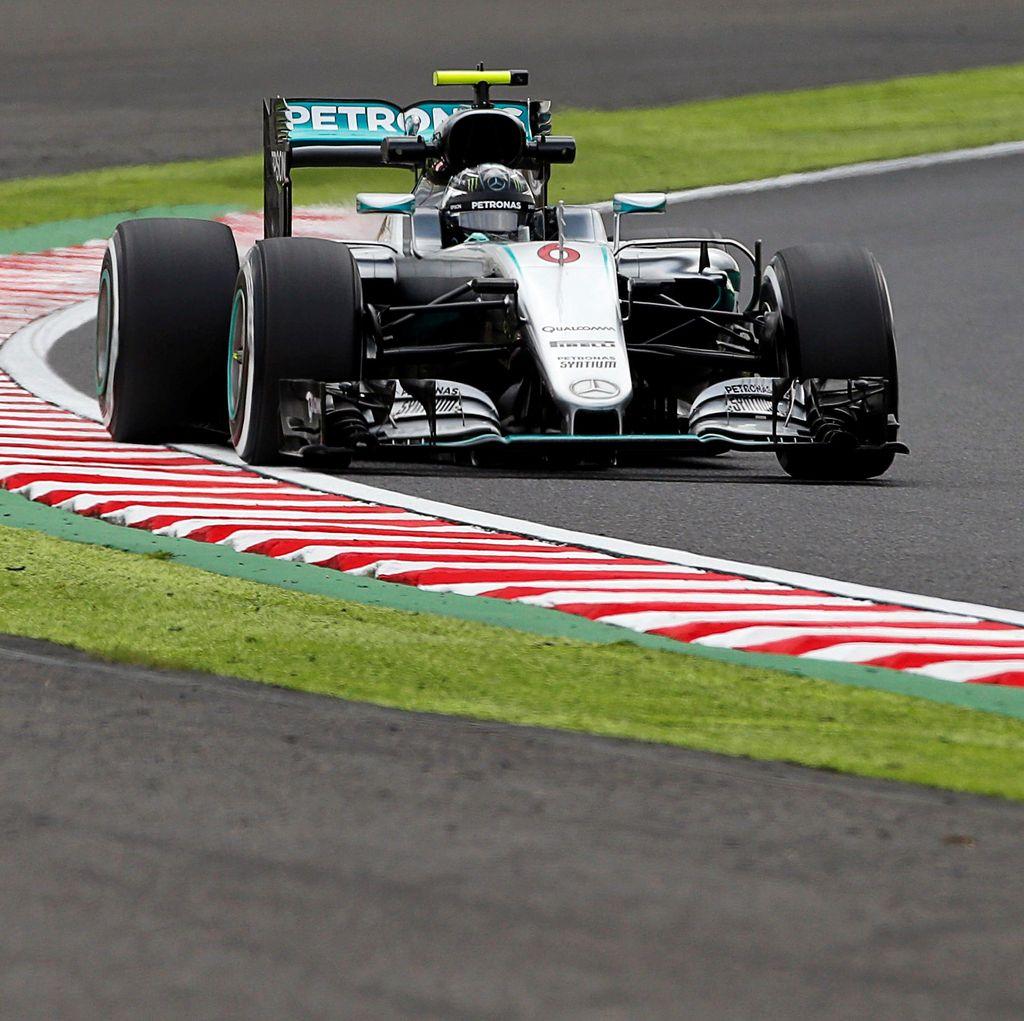 Rosberg Sapu Bersih Latihan di Suzuka