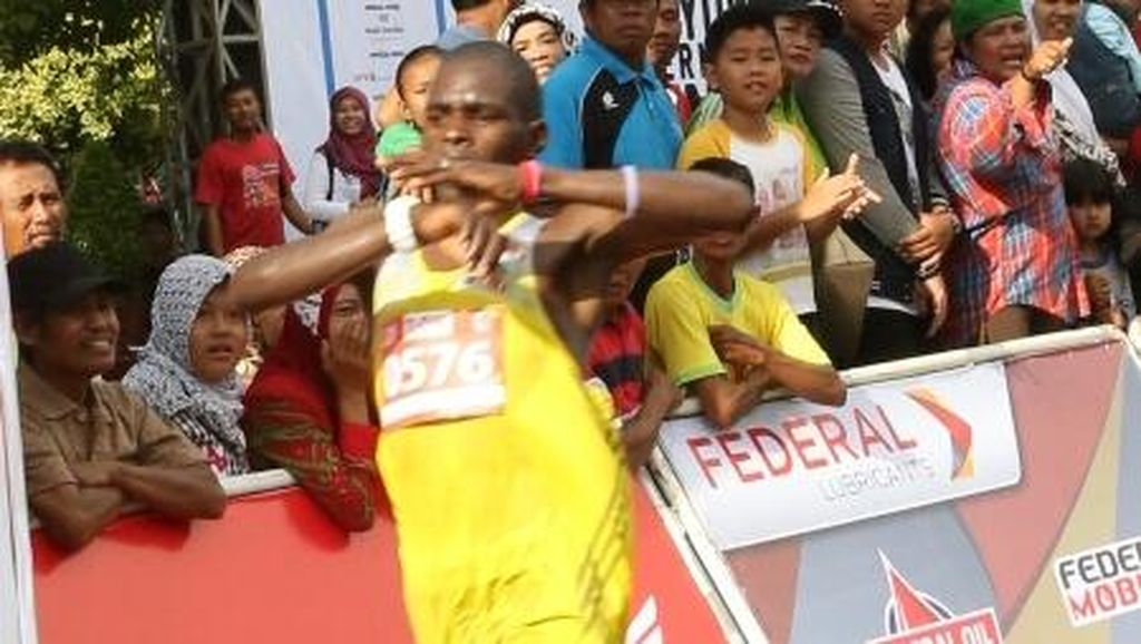 David Mutai Juarai Banyuwangi International Run untuk Kali Kedua