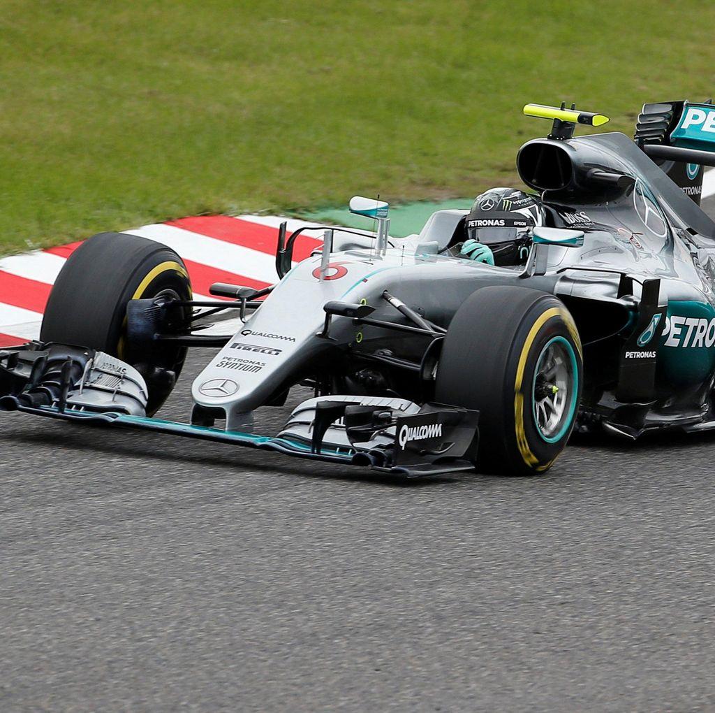 Dominan, Rosberg Menang di Suzuka