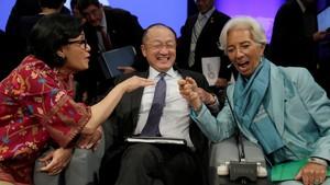 Sri Mulyani Hadiri Acara IMF dan Bank Dunia