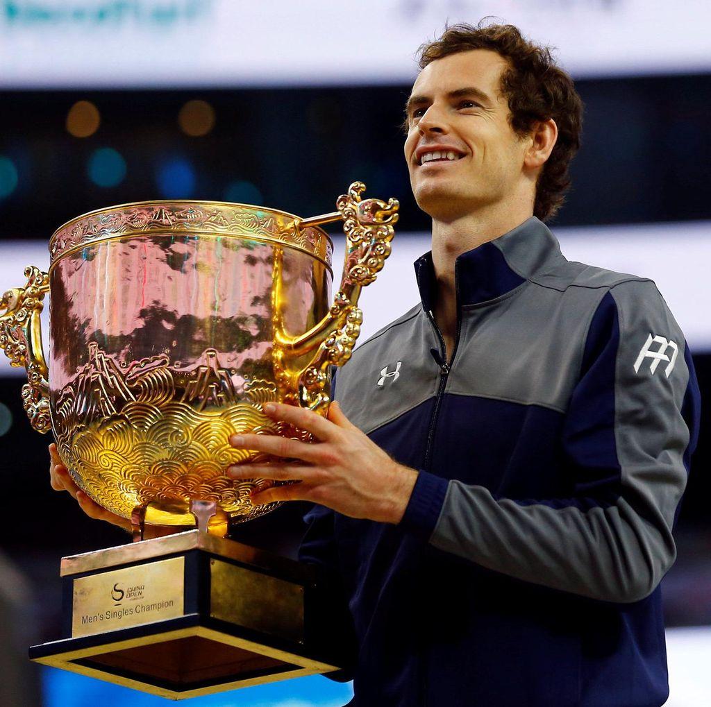 Juara di China, Murray Menangi Titel ke-40